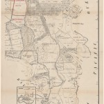 [Fig. 2] Map of Sydney showing Daceyville in top left corner.  From NRS 12060 [9/4693 letter 14/6358, p.4].