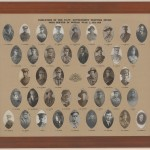 Employees if the NSW Government Printing Office who served in WWI, 1914-18. From A4126.