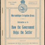 MIA How the Government helps the settler leaflet. From NRS 12060[9/4701] 15/3861, cover.