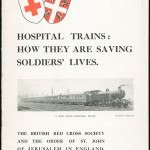 Hospital Trains: How they are saving soldiers' lives, c.1915. From NRS 12060 [9/4709] 15/9188, front cover.